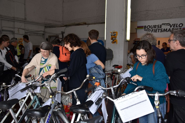 23th Second-hand Bike Fair | cyclo