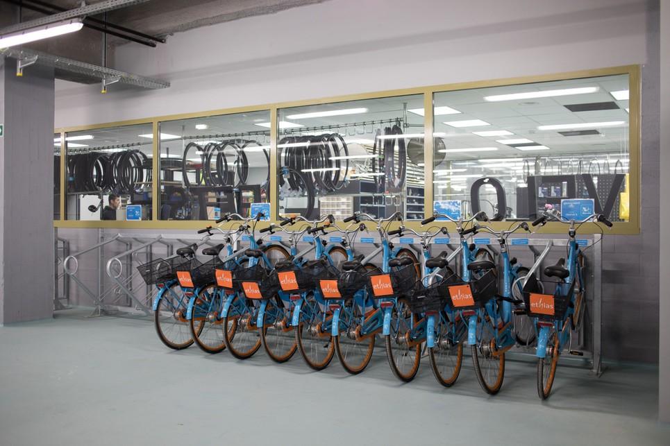 bluebike parkingnoord